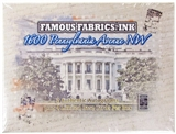 1600 Pennsylvania Ave NW Hobby Box (Famous Fabrics Ink 2012)