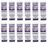 2012 Panini Gridiron Football Value Rack Pack (12 Pack Lot) (480 Cards!) - WILSON & LUCK ROOKIES!