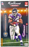 "Fathead Adrian Peterson Minnesota Vikings Teammate Player (Lot of 10) 9 1/2"" x 16 1/2"""