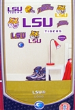 "Fathead LSU Tigers Junior Team Logo Set Wall Graphic 40"" x 27"""