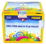 2014 Panini FIFA World Cup Soccer Sticker Box (50 Packs)