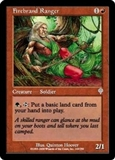Magic the Gathering Invasion Single Firebrand Ranger FOIL