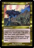 Magic the Gathering Invasion Single Fires of Yavimaya UNPLAYED (NM/MT)
