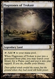 Magic the Gathering Time Spiral Single Flagstones of Trokair FOIL - SLIGHT PLAY (SP)