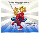 Fleer Marvel Retro Trading Cards Hobby Box (Upper Deck 2013)