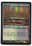 Magic the Gathering Zendikar Single Marsh Flats Foil CHINESE