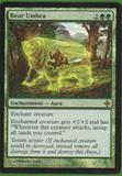 Magic the Gathering Rise of the Eldrazi Single Bear Umbra Foil