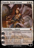 Magic the Gathering Shards of Alara Single Elspeth Knight-Errant FOIL - SLIGHT PLAY (SP)