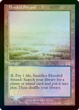 Magic the Gathering Onslaught Single Flooded Strand FOIL - SLIGHT PLAY (SP)