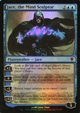 Magic the Gathering Worldwake Single Jace, the Mind Sculptor FOIL - MODERATE PLAY (MP)