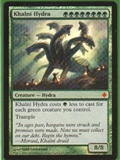 Magic the Gathering Rise of the Eldrazi Single Khalni Hydra Foil