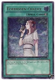 Yu-Gi-Oh Raging Battle Single Forbidden Chalice Ultimate Rare - SLIGHT PLAY (SP)