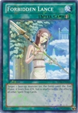 Yu-Gi-Oh Battle Pack 2: War of the Giants 1st Edition Single Forbidden Lance Mosaic Rare - NEAR MINT