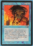 Magic the Gathering Alliances Single Force of Will LIGHT PLAY (NM)