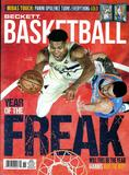 2017 Beckett Basketball Monthly Price Guide (#295 April) (Antetopounmpo)