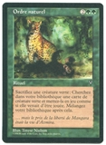 Magic the Gathering Visions Single Natural Order FRENCH - NEAR MINT (NM)