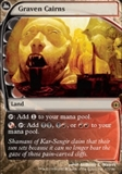 Magic the Gathering Future Sight Single Graven Cairns Foil