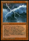 Magic the Gathering Legends Single Chain Lightning ITALIAN - SLIGHT PLAY (SP)