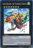Yu-Gi-Oh Galactic Overlord Single Gaia Dragon, the Thunder Charger Super Rare