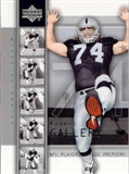 2004 Upper Deck Football ROBERT GALLERY 50 Card Lot