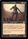 Magic the Gathering Onslaught Single Gangrenous Goliath - NEAR MINT (NM)