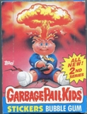 Garbage Pail Kids Series 2 Wax Box (1985-88 Topps)