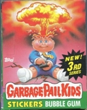 Garbage Pail Kids Series 3 Wax Box (1985-88 Topps)