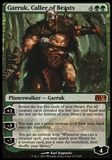 Magic the Gathering 2014 Single Garruk, Caller of Beasts FOIL - NEAR MINT (NM)