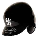 Gary Sheffield Autographed New York Yankees Batting Helmet with 509 HRs inscript