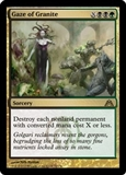 Magic the Gathering Dragon's Maze Single Gaze of Granite UNPLAYED (NM/MT)