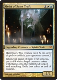 Magic the Gathering Innistrad Single Geist of Saint Traft UNPLAYED (NM/MT)