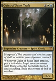 Magic the Gathering Innistrad Single Geist of Saint Traft FOIL - SLIGHT PLAY (SP)