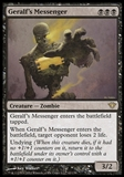 Magic the Gathering Dark Ascension Single Geralf's Messenger - SLIGHT PLAY (SP)