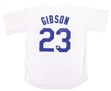 Kirk Gibson Autographed Los Angeles Dodgers Mitchell & Ness Baseball Jersey (Fanatics)
