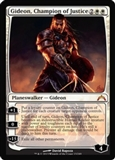 Magic the Gathering Gatecrash Single Gideon, Champion of Justice Foil