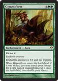 Magic the Gathering Zendikar Single Gigantiform Foil