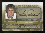 2012/13 In the Game Between The Pipes Autographs #AGG Gilles Gilbert DEC Autograph