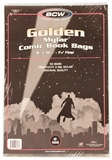 Golden Age Comic Book Mylar 2 Mil Bags 50 ct