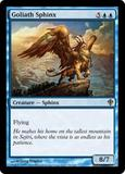 Magic the Gathering Worldwake Single Goliath Sphinx FOIL
