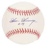 "Rich ""Goose"" Gossage Autographed New York Yankees Official MLB Baseball (Jackson Auth)"