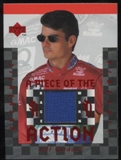 1997 Upper Deck Victory Circle Piece of the Action #FS1 Jeff Gordon Firesuit Blue