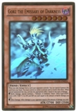 Yu-Gi-Oh Gold Series 5 Single Gorz the Emissary of Darkness Ghost Rare