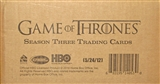 Game of Thrones Season Three Trading Cards 12-Box Case (Rittenhouse 2014)