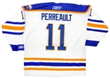 Gilbert Perreault Autographed Buffalo Sabres Throwback White Reebok Jersey