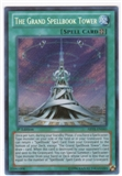 Yu-Gi-Oh Abyss Rising Single The Grand Spellbook Tower Secret Rare - NEAR MINT (NM)
