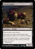 Magic the Gathering Dark Ascension Single Gravecrawler UNPLAYED (NM/MT)