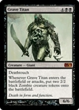 Magic the Gathering 2012 Single Grave Titan UNPLAYED (NM/MT)