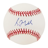Greg Maddux Autographed Official National League Baseball