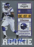 2010 Playoff Contenders #138 Everson Griffen Rookie Autograph
