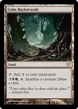 Magic the Gathering Dark Ascension Single Grim Backwoods UNPLAYED (NM/MT) 4x Lot